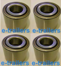 FOUR 75x60x35 TRAILER BEARING FOR IFOR WILLIAMS 1992-96-SKF13 T1 2568 P 00001
